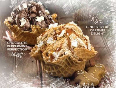 Festive Ice Cream Flavors - These Holiday Flavors are Inspired by Traditional Christmas Treats
