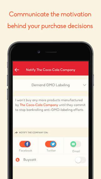 Social Boycotting Apps