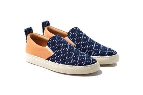 Chic Cross-Cultural Sneakers