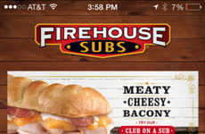 Customized Reward Apps - The Firehouse Subs Reward App Enables Rewards Suited to Different Tastes