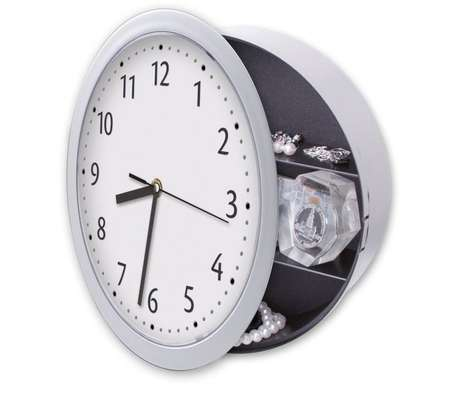 Hidden Safe Timepieces