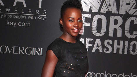 LED Celebrity Dresses - Lupita Nyong'o's LED Light Dress Was Coded by Young Girls Around the World