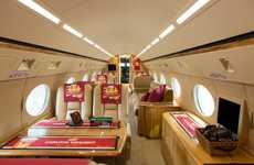 Airplane Pubs - The 'Pub Plane' by Carlton Draught was Created for the Aussie Pub Tour Promotion