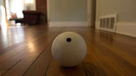 Spherical Security Robots - The Sensor Sphere is a Robotic Ball That Plays Security Guard