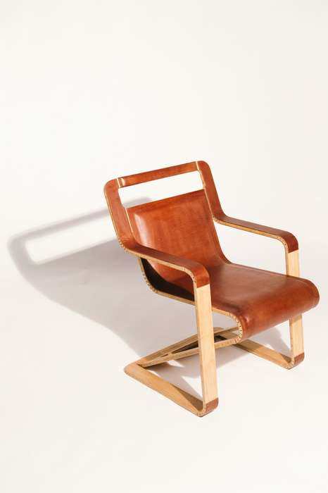 Flat-Pack Leather Chairs
