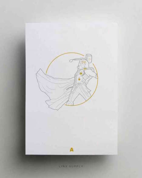 Preliminary Superhero Sketches