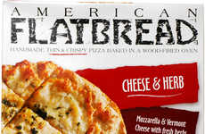 Prideful American Pizzas - This Thin American Flatbread Champions Vermont Cheese