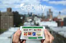 Aisle-Inspired Online Stores - 'Grability' Makes Online Grocery Shopping Streamlined and Efficient