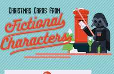 Pop Culture Christmas Cards