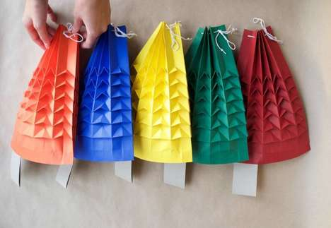 Origami-Inspired Gift Wrap - This Eco-Friendly Wrapping Paper Lets Users Celebrate Sustainably