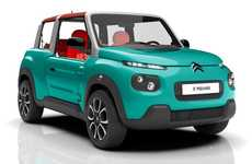 Wide-Range Electric Cars - The Citroen Mehari is Powered By a Lithium-Metal Battery Pack