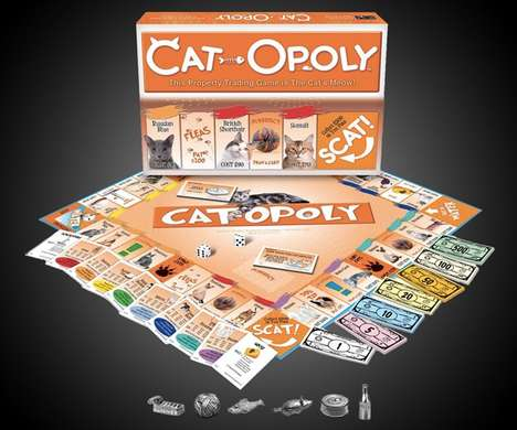 Replica Feline Board Games