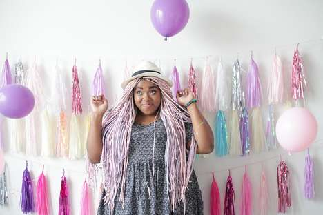 Whimsical Pastel Fashion Blogs - This Influential Blogger Promotes a More Colorful Lifestyle