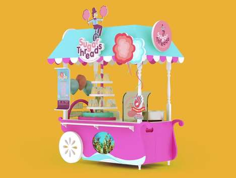 Whimsical Dessert Kiosks