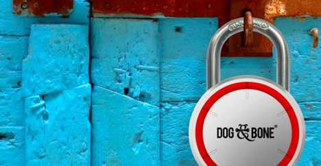 Dog & Bone's Smart Padlock Combines Classic and New Aesthetics