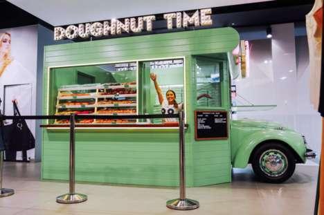 Pop-Up Doughnut Kiosks