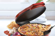 Ultra-Fast Cooking Appliances - The Betty Crocker Pizza Maker Cooks a Variety of Foods Quickly
