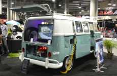 Electrified Classic Vans - This Electric Van Was Crafted Together From a 1964 Volkswagen Type 2 Van