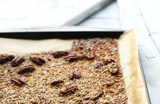Superfood Brittle Desserts - This Homemade Sweet Melted Sugar Dessert Features White Quinoa