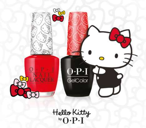 Cartoon-Inspired Nail Lacquers
