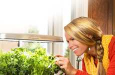 Connected Indoor Gardens - The Miracle-Gro Bounty Elite AeroGarden Digitizes the Act of Gardening