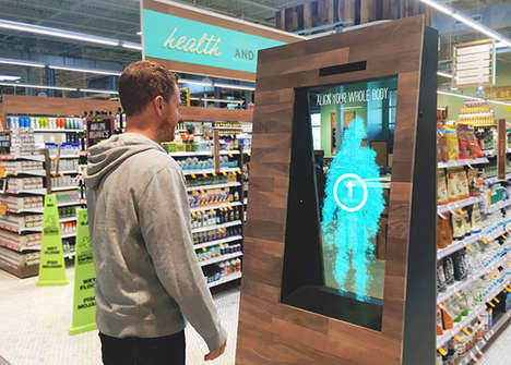Intuitive Grocery Displays - Whole Foods' Interactive Store Display Helps Make Purchase Decisions