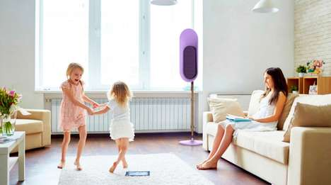 Sculpturally Playful Speakers