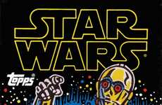 Vintage Galactic Trading Cards - This Book Collects Hundreds of Classic Star Wars Trading Cards