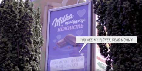 Personalized Chocolate Billboards
