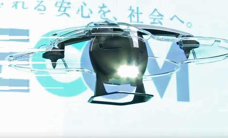 Pursuing Security Drones