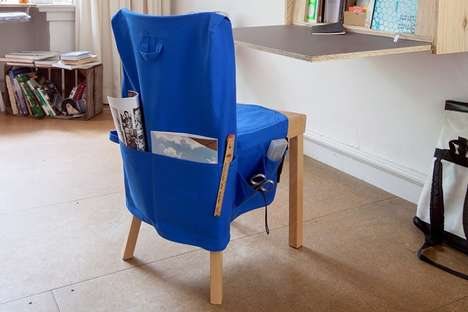 Gear-Holding Slipcovers