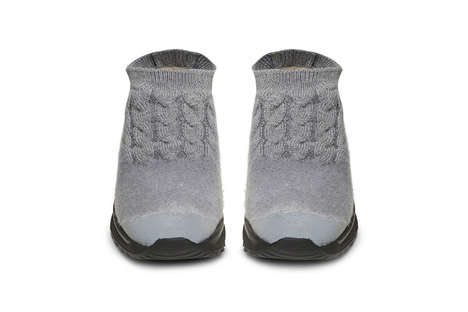 Felt Knit Running Shoes - These Maison Margiela Sneakers Offer Runners a Cozy Alternative