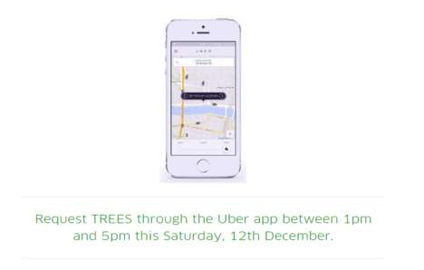 On-Demand Tannenbaum Deliveries