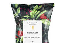 Watermelon Jerky Snacks - Sakara Life's Dried Watermelon Snacks are Simple and Sweetly Satisfying
