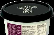 Gourmet Mascarpone Yogurts - The Collective Dairy Bosenberry Dessert is Fruity and Rich in Flavor