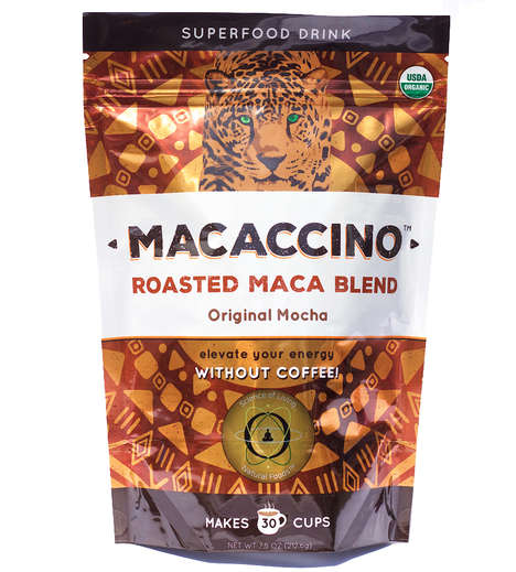 Superfood-Infused Drink Mixes - This Hand-Roasted Coffee Alternative Contains Maca Root
