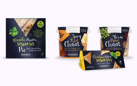 Pre-Packaged Indian Snacks - This Healthy Snack Line is Inspired by Indian Cuisine
