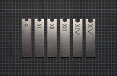 Latin Numeral Wrench Sets - This Sleek and Simplified Wrench Set is Made of Stainless Steel
