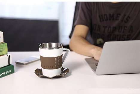 Temperature-Detecting Mugs