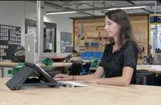 Ergonomic Laptop Satchels - The 'HELCY' Laptop Bag Adjusts the Height and Angle of Laptops on Desks