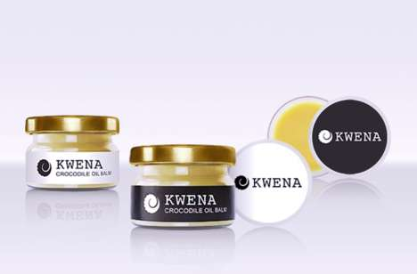 Crocodile Oil Balms - Kwena's Crocodile Oil Product is Rich in Healing Properties