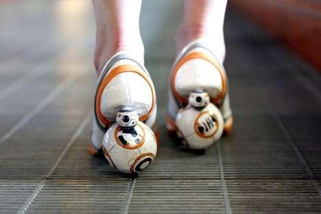 Spinning Droid Heels