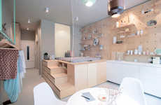 Efficient Apartment Accommodations - This Small Apartment Design is Intended for Traveling Renters
