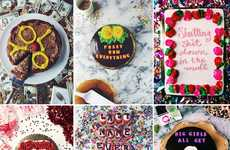 Lyrical Rapper Cakes - These Decorated Desserts Feature Lyrics from Popular Songs by Drake