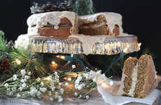 Paleo Eggnog Cakes - This Gingerbread Torte is Made with Gluten-Free Ingredients