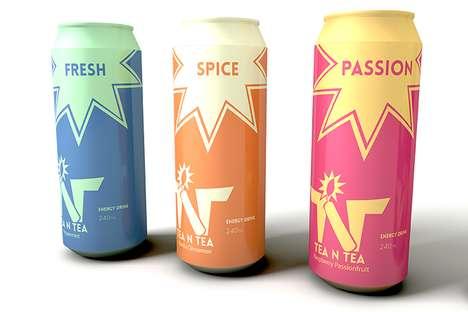 Explosive Tea Branding