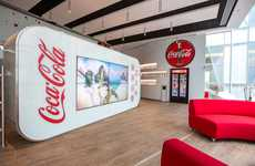 Branded Soda Headquarters - The New Coca-Cola Head Office in Paris Boasts Chickens and Beehives