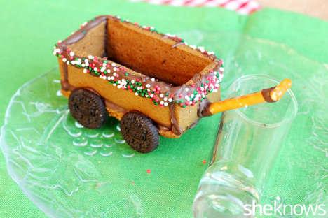 Gingerbread Wagon Desserts