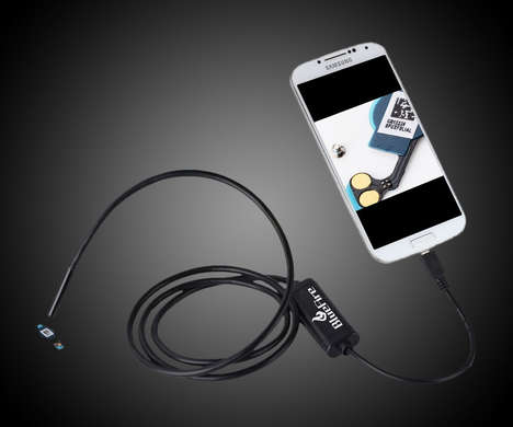 Waterproof Smartphone Endoscopes