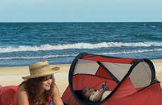 Portable Napping Tents - These KidCo Peapod is a Travel Bed for Children